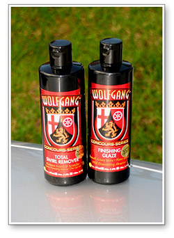 Wolfgang Total Swirl Remover 3.0 and Wolfgang Finishing Glaze 3.0.