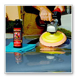 Wolfgang Total Swirl Remover 3.0 can be used with a dual action polisher to remove moderate swirls and imperfections.