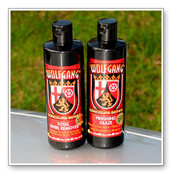 Wolfgang Total Swirl Remover 3.0 and Finishing Glaze 3.0 are both made in association with Menzerna of Germany.
